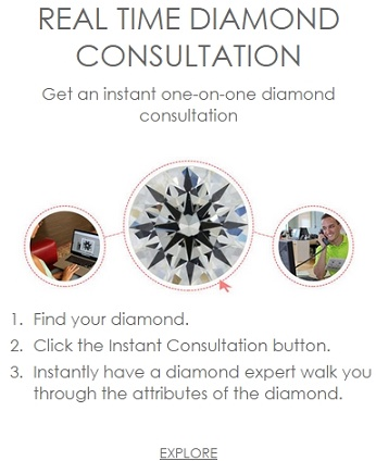 real time diamond consultation