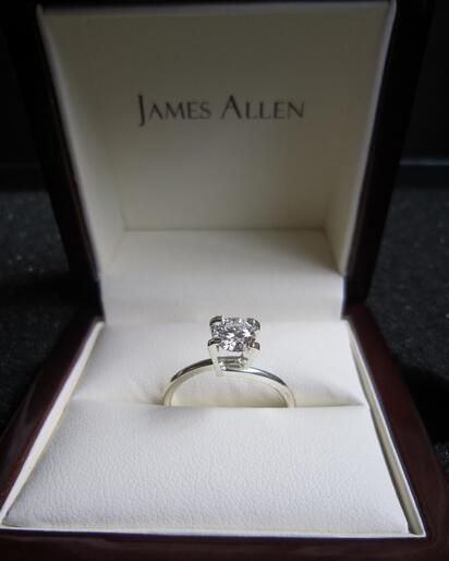 loose diamond from james allen